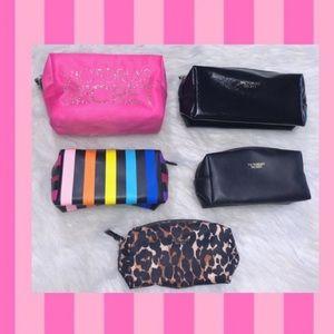 🌈 Victoria's Secret Cosmetic Bags Bundle